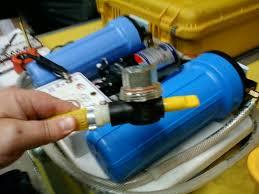 Hatékony víztisztító készülék